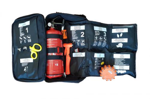 Fordonsväska, Räddningsväska inkl. brandsläckare